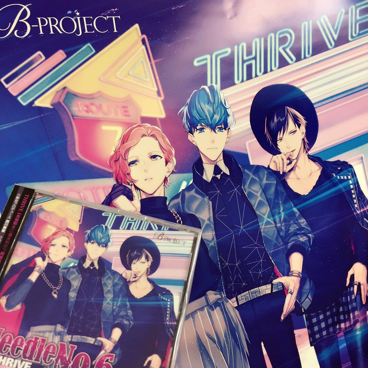 【MUSIC】本日2/22(水)発売!THRIVE NEW SINGLE『Needle No.6』  #Bプロ