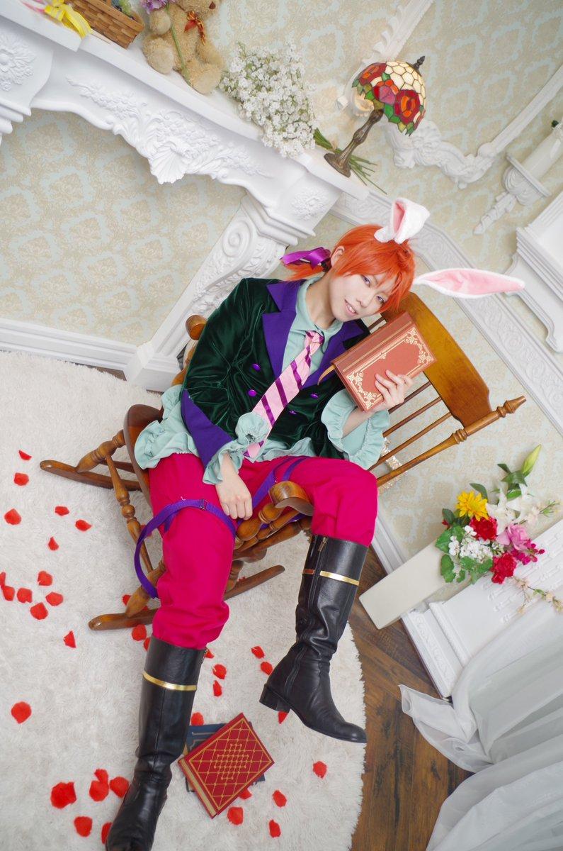 【コス】ツキウタ。 兎王国 葉月陽 また夜のおすすめの本を貸してよphoto:ユーキさん@10160408yuuki