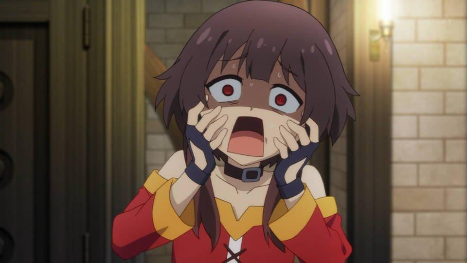 気持ち悪いですー! #konosuba