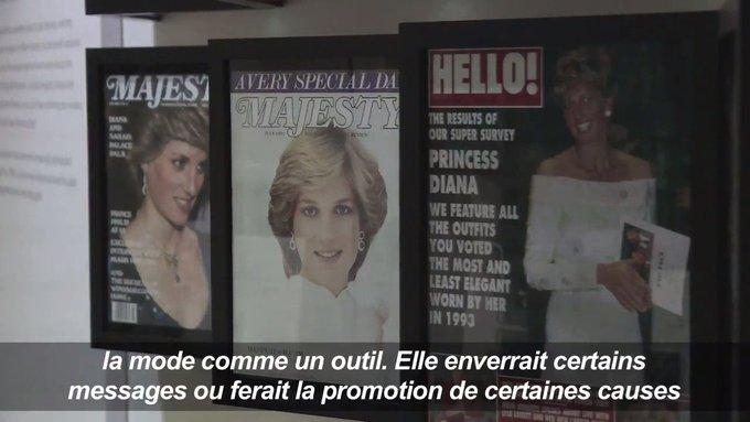 Il était une fois Lady Di, icône de la mode #AFP