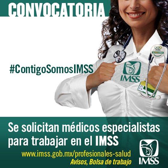Convocatoria #MédicosEspecialistas de años anteriores a #2017.  Registro en 💻 para el evento de Contratación 👇🏽 https://t.co/RLhbuxYeQ6