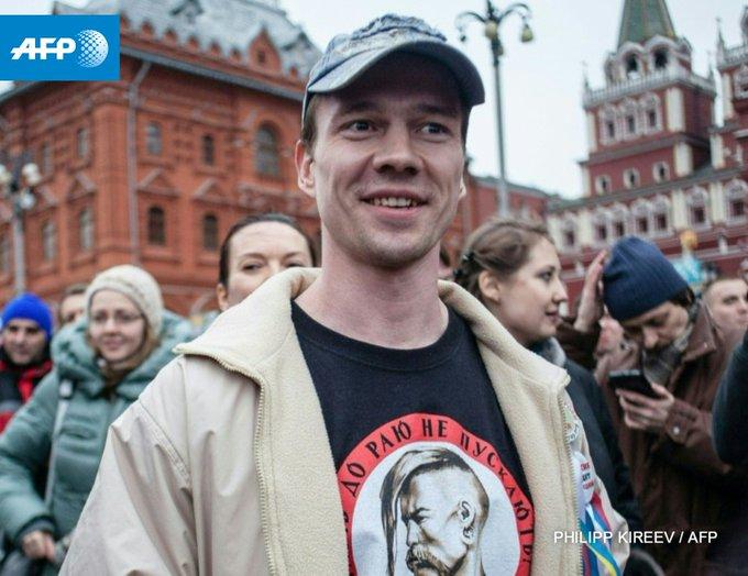 La Cour suprême russe ordonne la libération de l'opposant Ildar Dadine https://t.co/vkTjVZ64fz #AFP