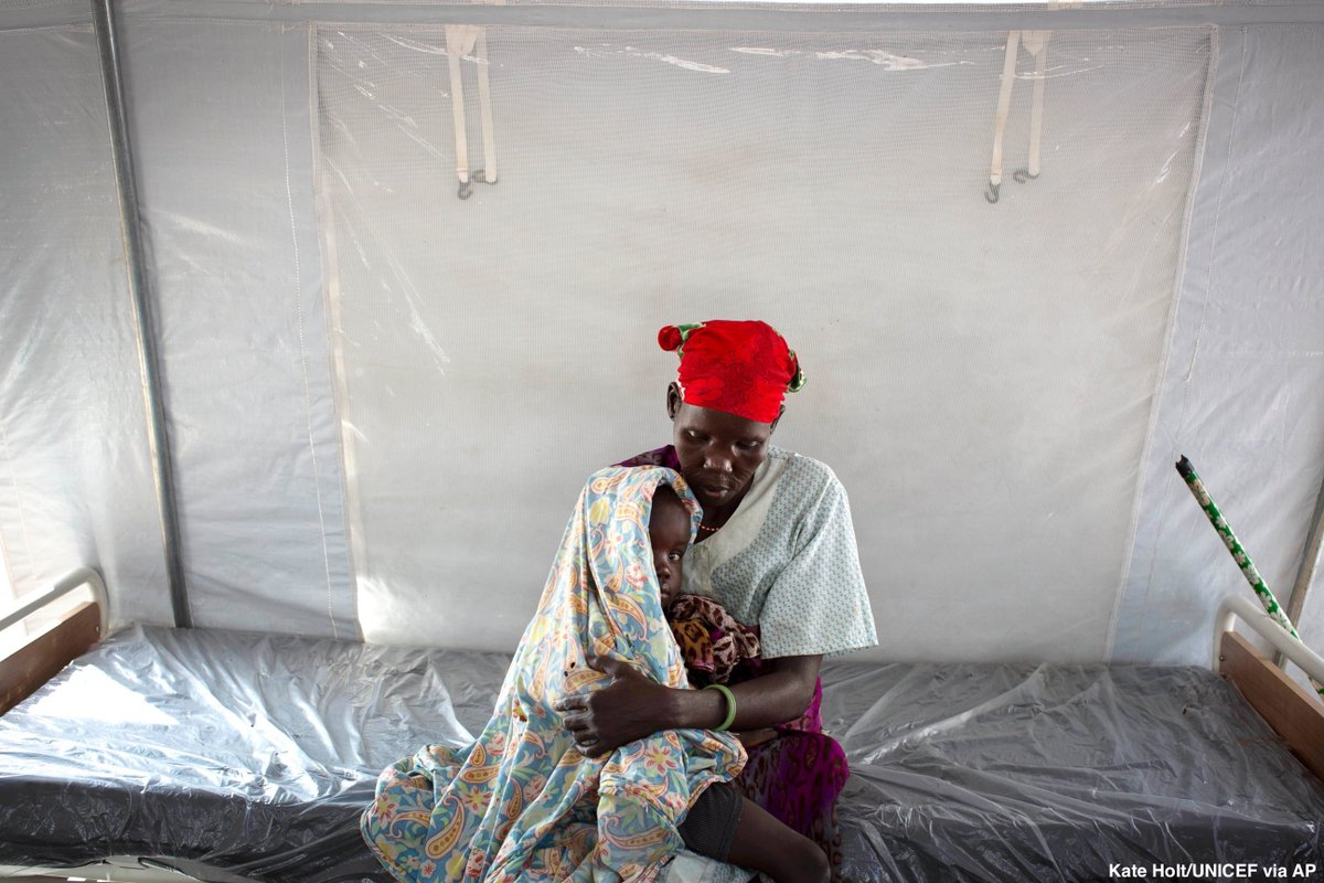 Pope Francis demanding concrete action to get food aid to famine victims in South Sudan, saying words aren't enough. https://t.co/mfXlJMjhGi