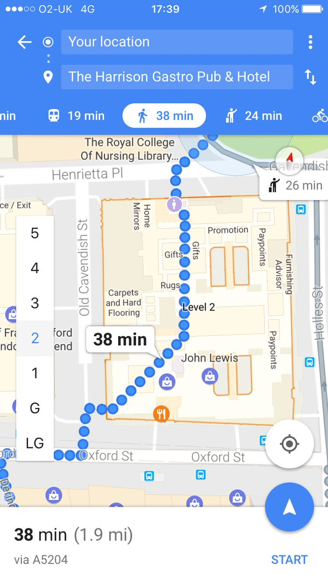 RT @Dave_Rowlinson: New respect for google maps and it's 'just cut through John Lewis, mate' attitude https://t.co/Iq8IKpSskO