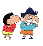 there's even a #LINE stamp XD LINEスタンプ迄有るんw  #CrayonShinChan