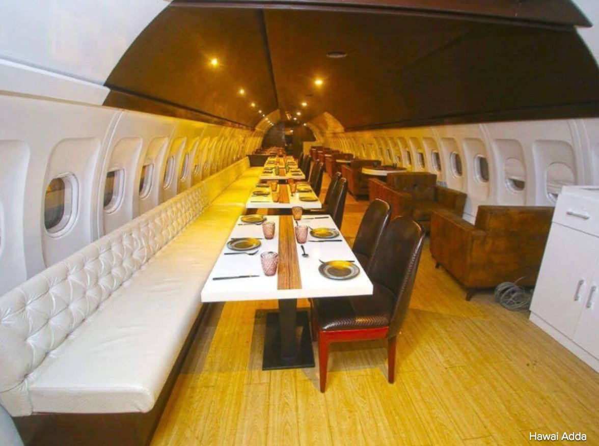 In Ludhiana, India, a grounded Airbus A320 is now a restaurant where customers can enjoy a fine dining experience. https://t.co/Gx8WoSMad3