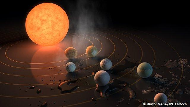 Телескоп НАСА открыл семь потенциально обитаемых 'сестер' Земли https://t.co/N3CJgFbk2F