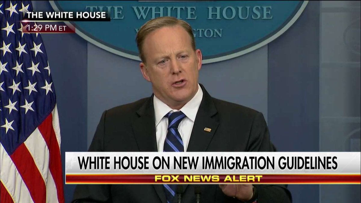 .@PressSec: 'Right now, there's millions of people in this country that are in the country illegally.'