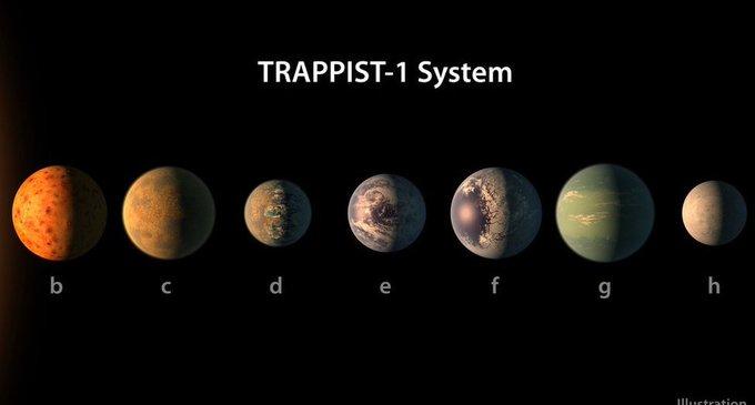 Découverte d'un système solaire à 'seulement' 40 années-lumière de la Terre https://t.co/Hz6wV5A7g1