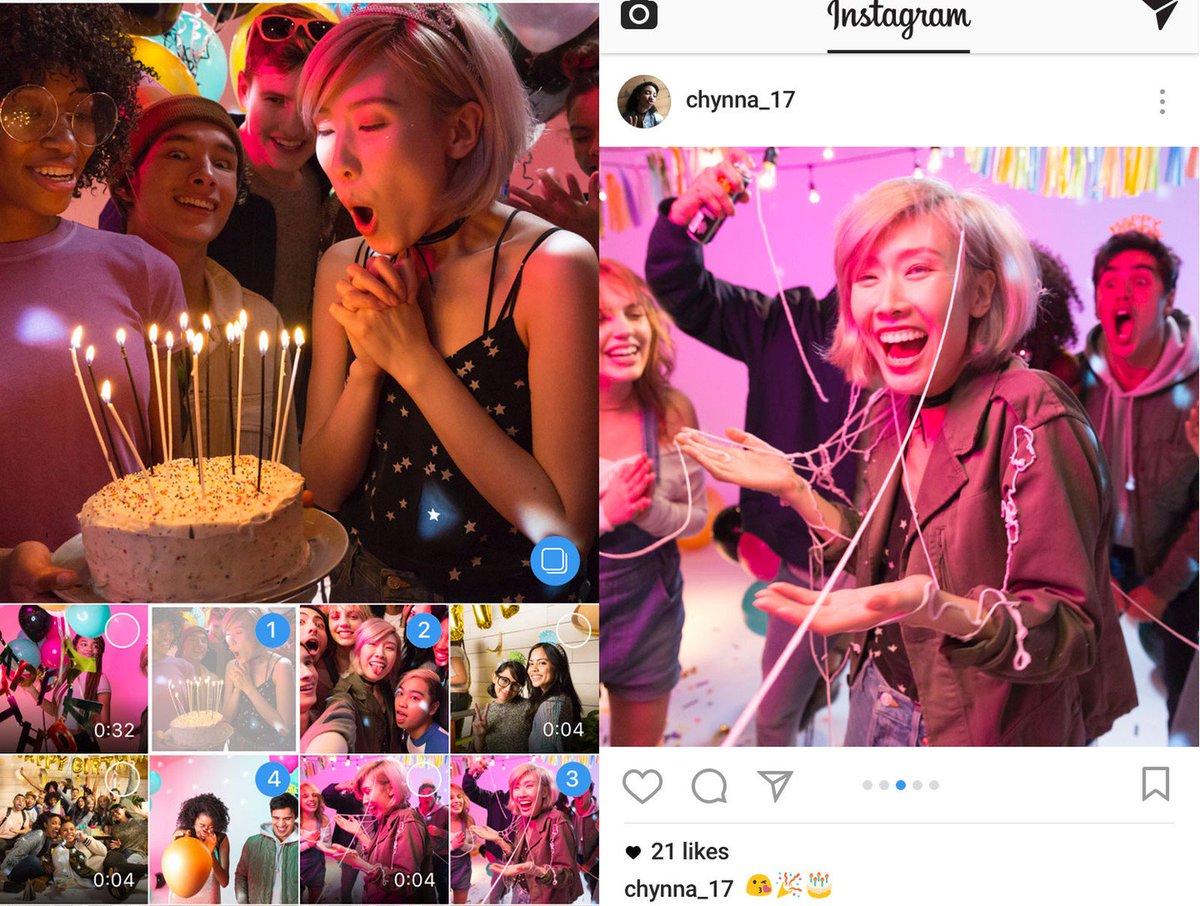 Instagram libera publicação de 10 fotos ou vídeos por post; veja passo a passo https://t.co/0FZE6MwI70