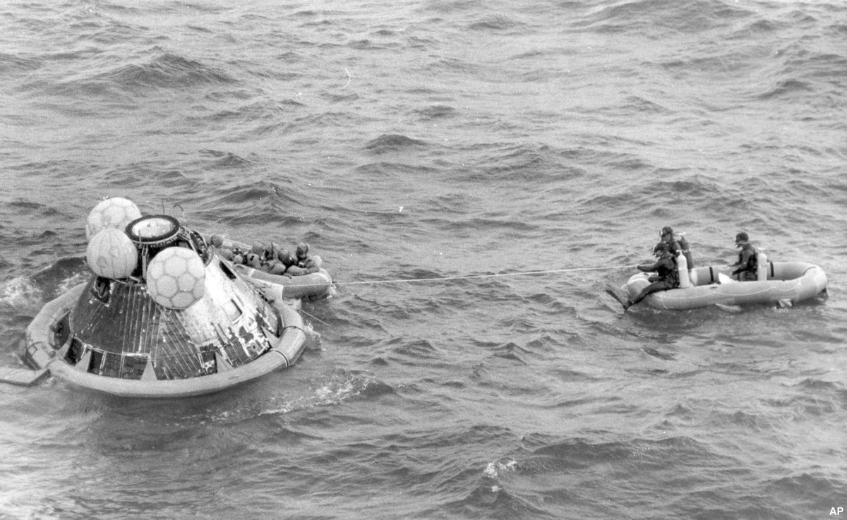 Apollo 11 command module is going on road trip, leaving the Smithsonian for the first time in more than four decades https://t.co/iwlBpzBtz3