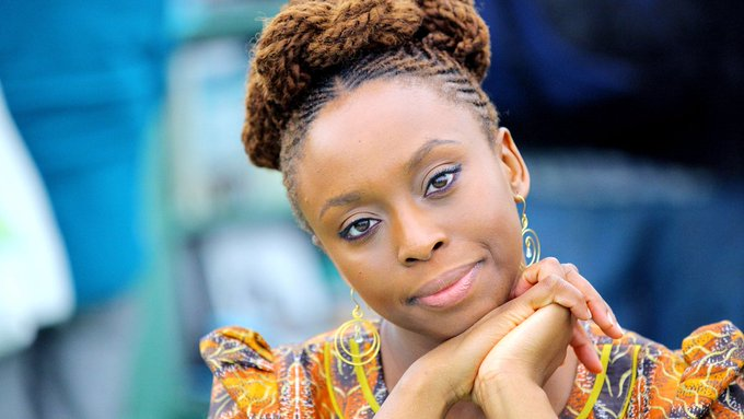 """Chimamanda Ngozi Adiche: """"Women can like make-up and be intellectual.' https://t.co/zL2a8M4Ivm"""