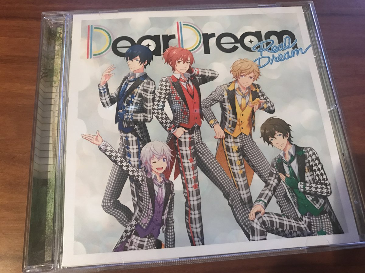 ドリフェス! DearDreamの1st Album『Real Dream』がリリース! サイコー超えてます。聞きながら