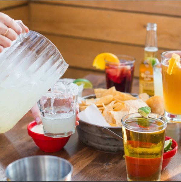 #Margaritas + table full of food + your besties = top notch #nationalmargaritaday #🍹  . 📷 <a href=https://twitter.com/TinLizzys target=blank>@TinLizzys</a> <a href=https://t.co/QZds7YJktY target=blank>https://t.co/QZds7YJktY</a>