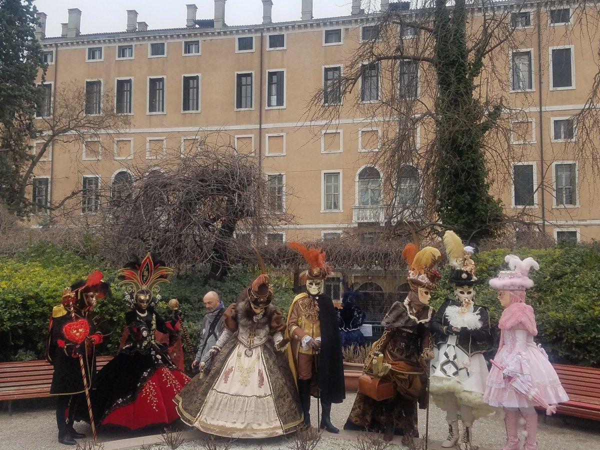 ヴェネチアのカーニヴァル、コスサミ感あったなぁ。。。
