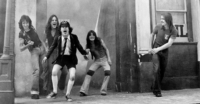 "AC/DC filmed the music video for ""It's a Long Way to the Top (If You Want to Rock 'n' Roll)"" 41 years ago today"