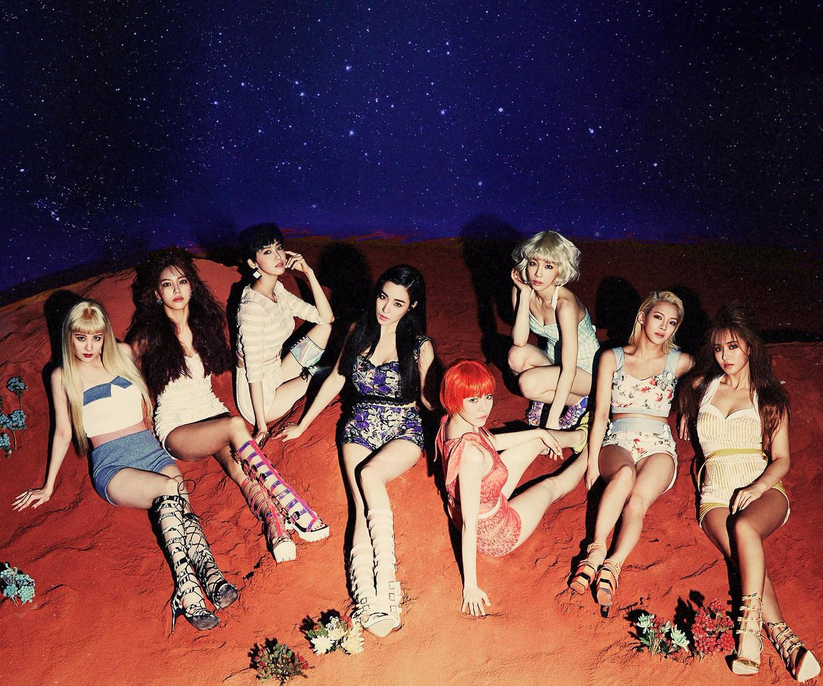 Girls Generation Reportedly Releasing A New Album In July For Their