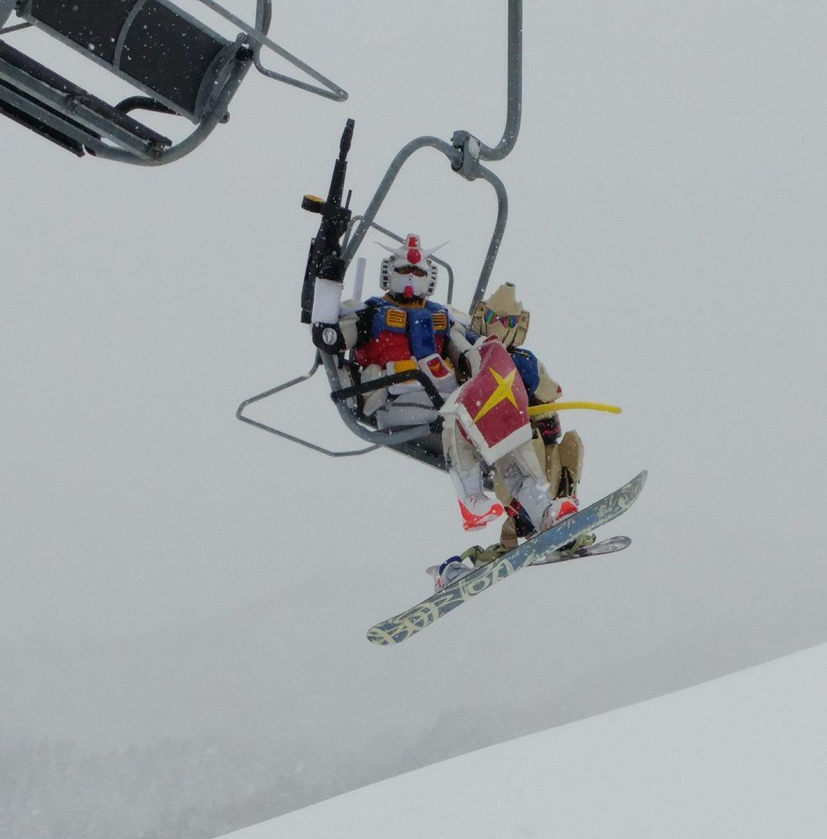 今週末、2月25日 (土)は兵庫県『スカイバレイスキー場』にGP隊・生ガンダムさんが登場!٩(●˙▽˙●)۶みんなで、ゲ