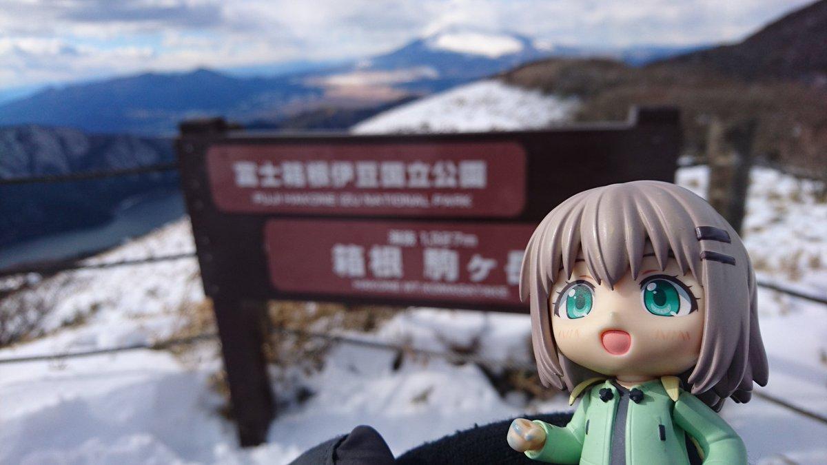あおいちゃんと富士山#ヤマノススメ#富士山の日