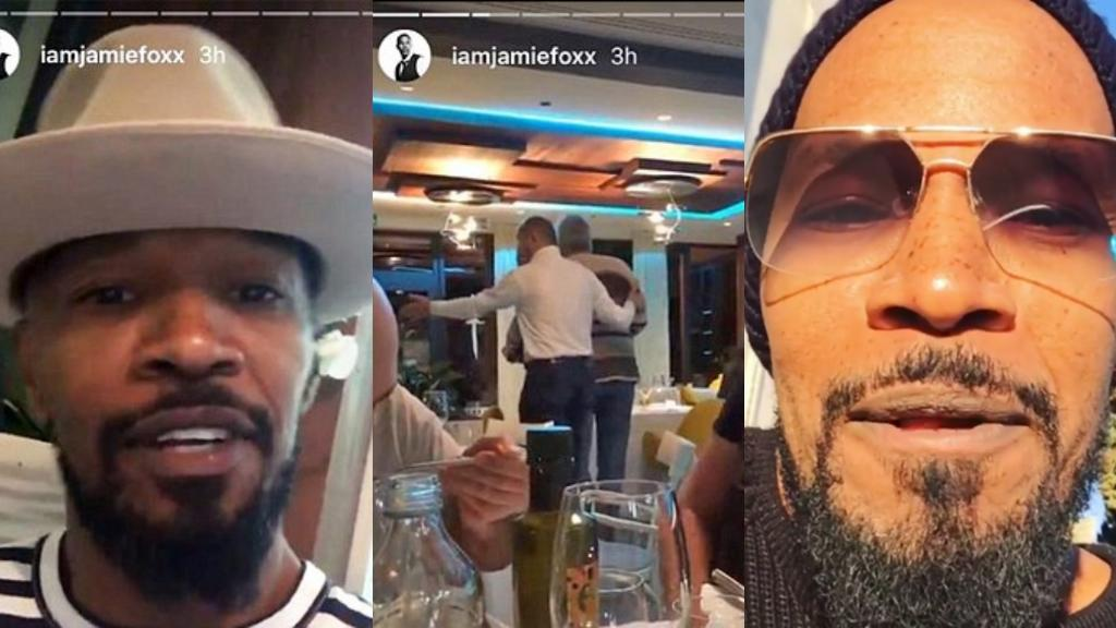 Jamie Foxx 'called n-word by two thugs in racist attack' in Croatian restaurant