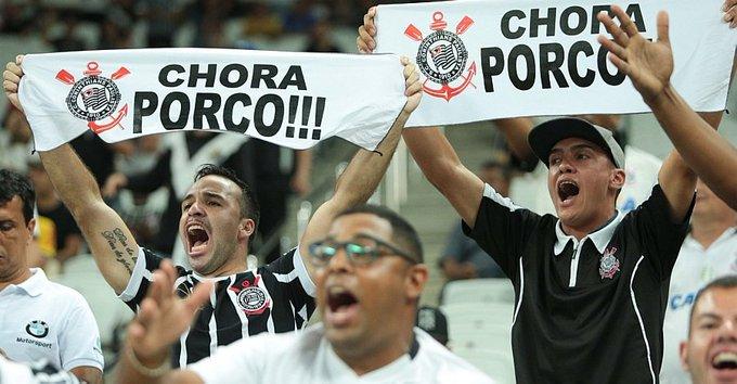 FIM DE JOGO: Com jogador a menos, Corinthians vence o Palmeiras no Paulistão https://t.co/fuGzomRbwa