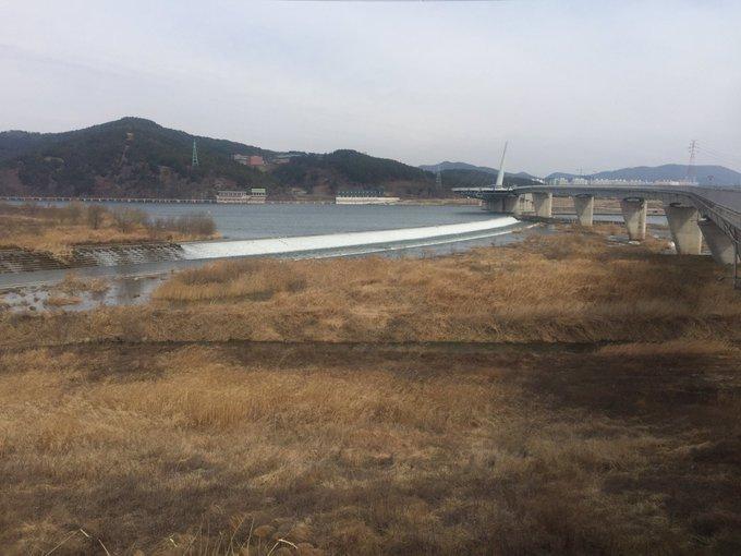 4대강 고발 드론 촬영 중. 기다려 이명박!