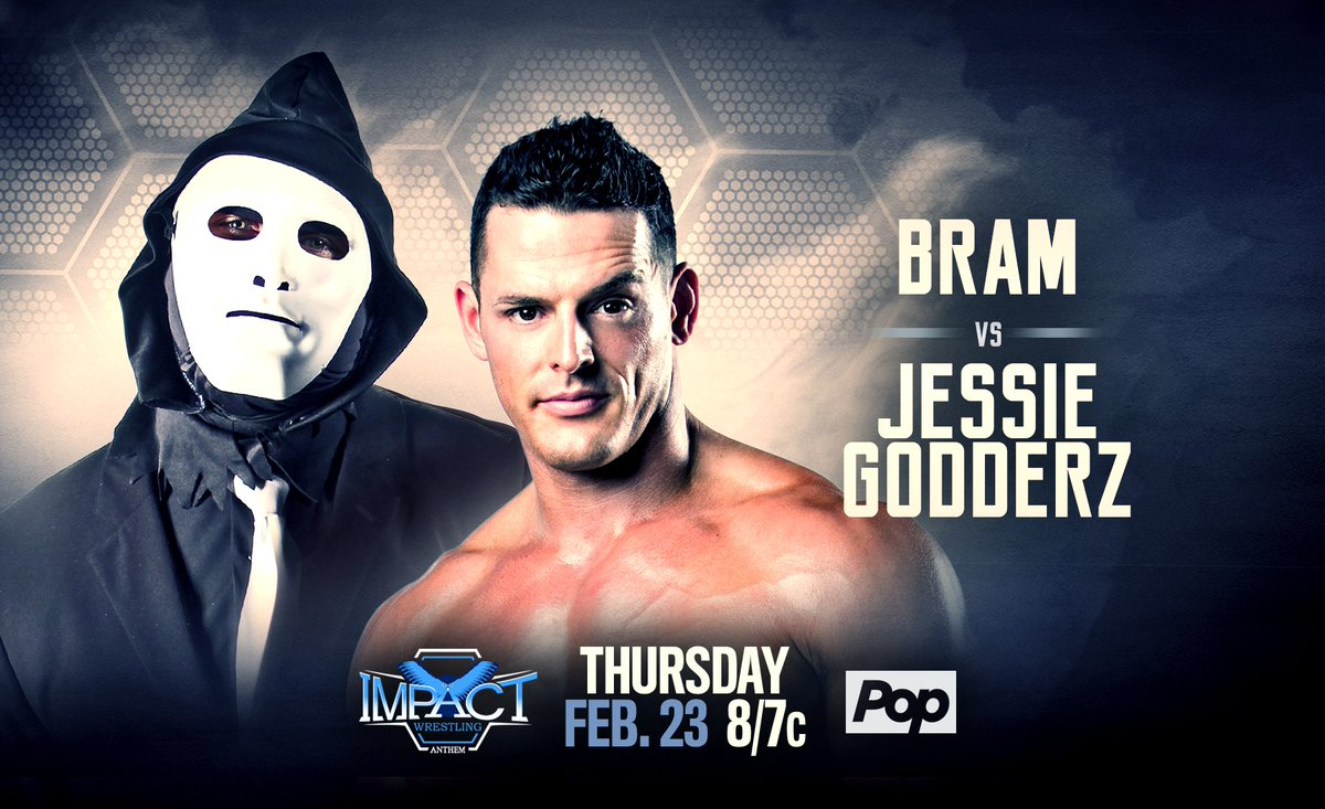 TOMORROW NIGHT at 8/7c, catch me on @IMPACTWRESTLING when I battle BRAM from the #DCC!  1 Down, 2 to go.  I've got their #! @CBS #BB19 #BBAD