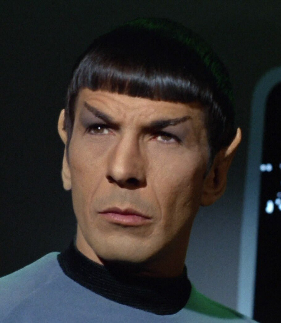 RT @SciFiTags: #MakeSciFiSick   Spock jaw https://t.co/Qln5aETmsh