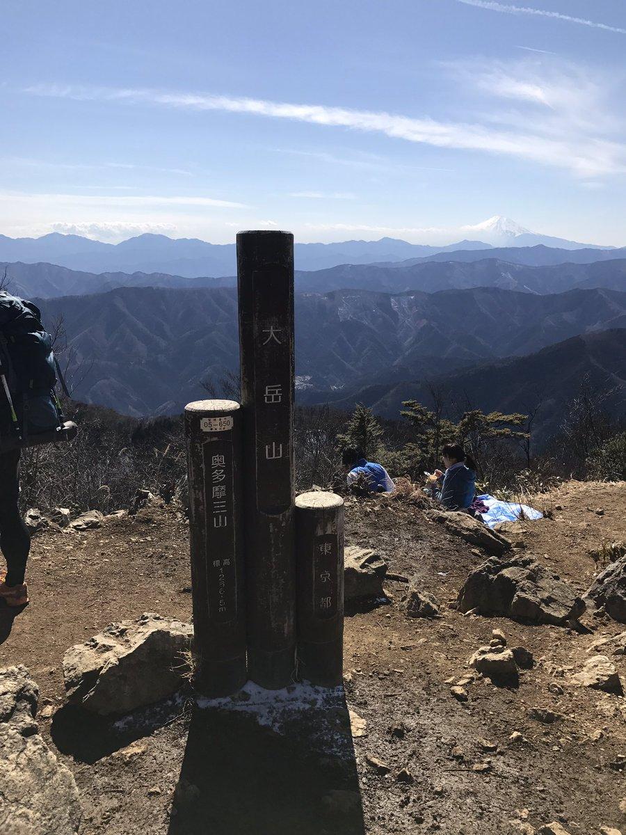 最近の登山での富士山1大岳山より2愛鷹山より3丹沢大山より4三つ峠山より #富士山の日だから富士山の画像を貼ろう#ヤマノ