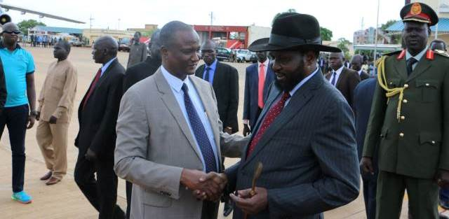 Kiir expected to travel to Addis Ababa today
