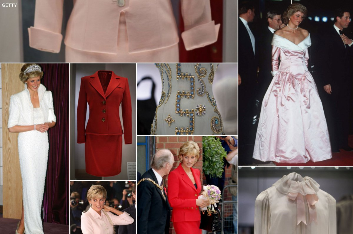 PHOTOS Exhibition of Princess Diana dresses opens to the public