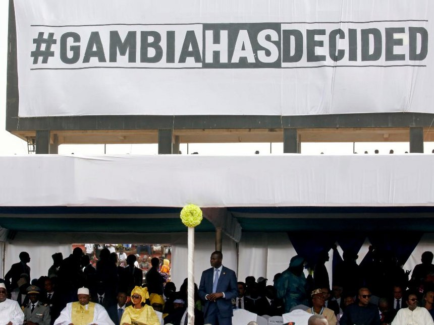 Gambia arrests former spychief linked to killings