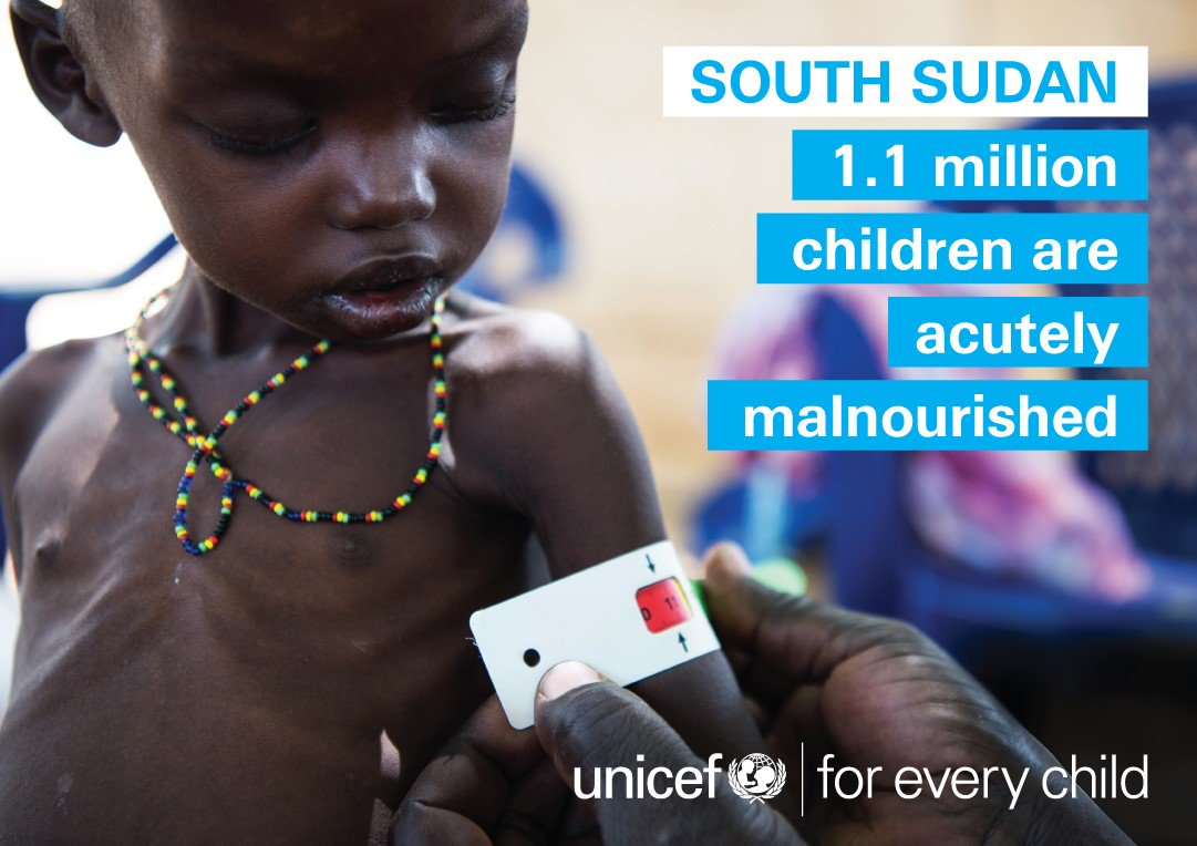 Together with partners we will continue doing everything we can to reverse the spread of famine in #SouthSudan https://t.co/0TxKfgqfar