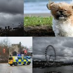 Storm Doris causes travel chaos with flights cancelled and thousands left without power as UK weather sees 87mph winds