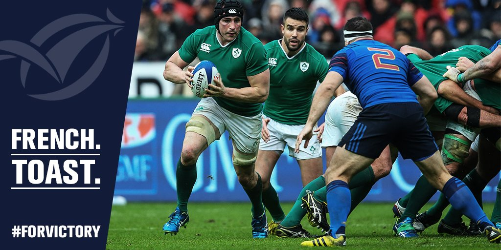 Nothing is certain except Ireland's total commitment. Come on the Boys in Green #ForVictory #SixNations https://t.co/cuvSnK3JKr