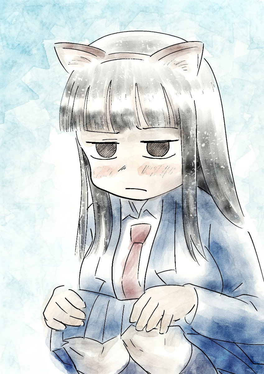し(くそっ、私は何をやってるんだ……) #ド嬢 神林ってさわ子のおねがいごとならなんだかんだ言いつつ何でも聞いてあげちゃ