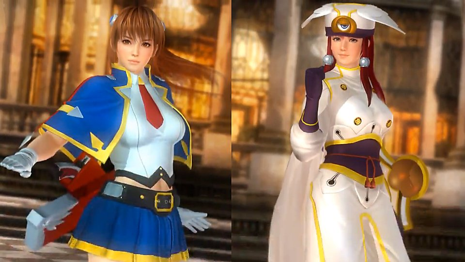 #DOA5LR x Arc System Works #BlazBlue (releasing in March)「アー