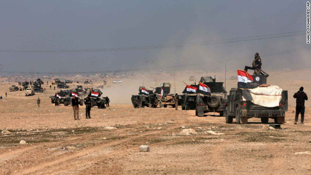Iraqi forces have retaken the Mosul airport, an official says, part of a months-long operation against ISIS. https://t.co/HGNDE9b3vI