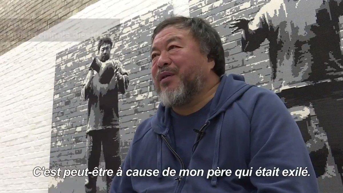 L'artiste chinois Ai Weiwei prépare un documentaire sur la crise migratoire, nommé 'Flux humain' #AFP