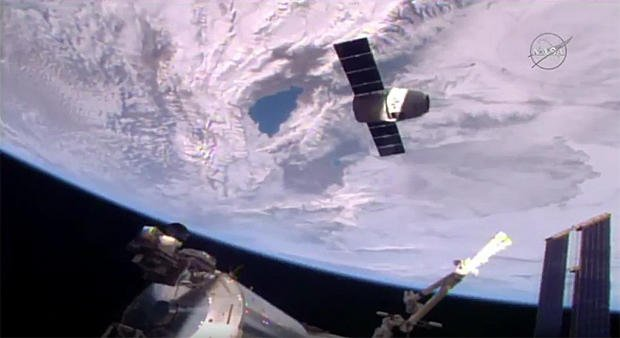 SpaceX has finally completed a 250-mile-high delivery at the International Space Station