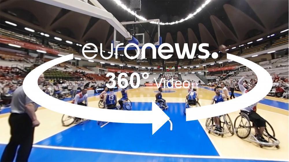Lyon festival showcases wheelchair basketball talent