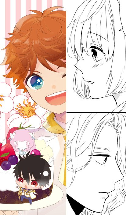発売中のシルフコミックス『マジきゅんっ!ルネッサンス コミックアンソロジー』に 瑠衣先輩と小花ちゃんの漫画20Pと、口絵