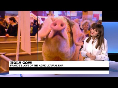 VIDEO -  Salon de l'Agriculture: a celebration of a struggling sector