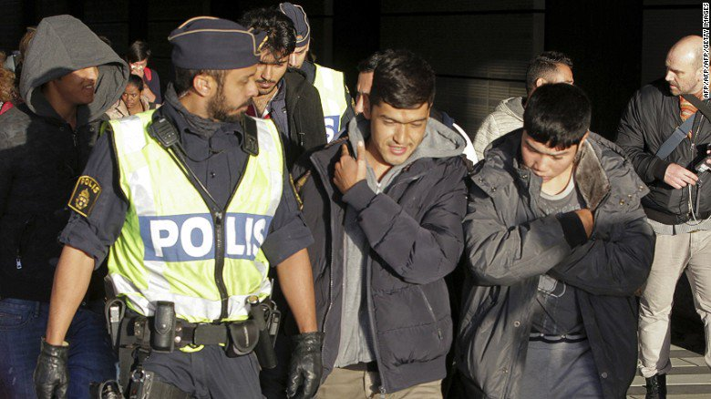 The number of refugee arrivals in Sweden in recent years has raised concern over integration