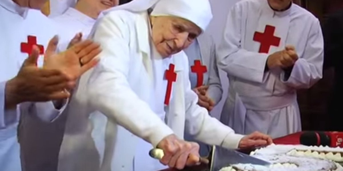 110-year-old nun's secret to long a life is pretty simple
