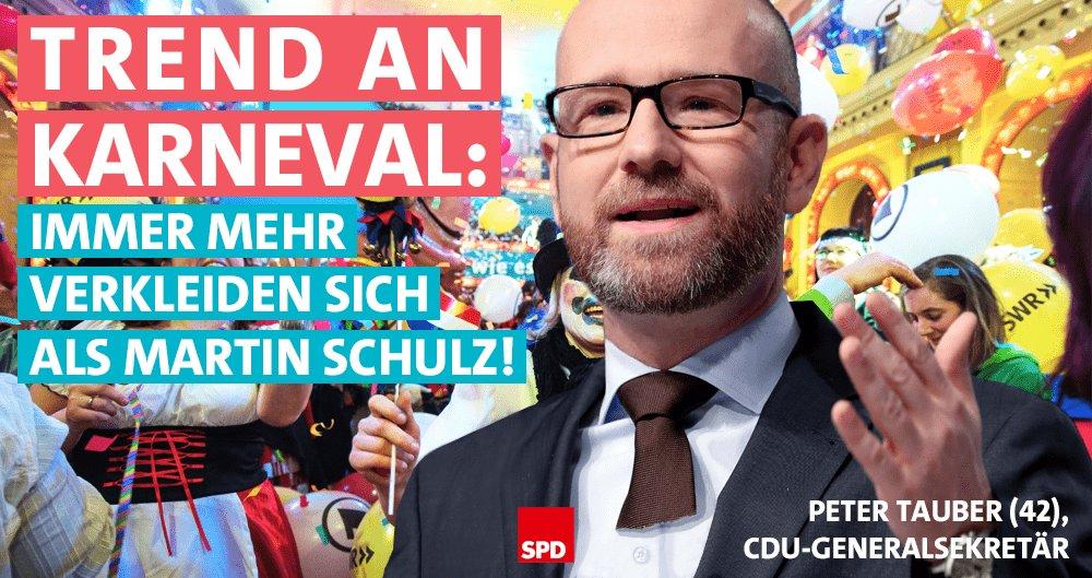 RT @spdde: Sehr witzig, Herr Tauber! #alaaf https://t.co/Wb5IrZKkOm