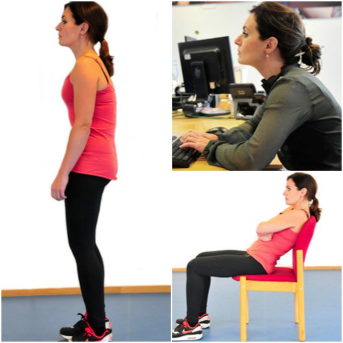 Do these common posture mistakes look familiar? Our page describes common posture mistakes, and how to correct them: https://t.co/nLmzvrkYQQ