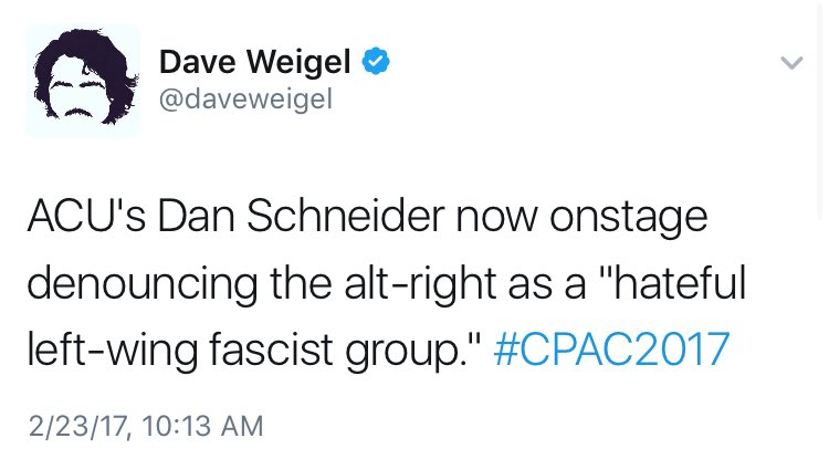 RT @MattOrtega: These people are unbelievably full of shit. #CPAC2017 https://t.co/KIowIZe8CZ