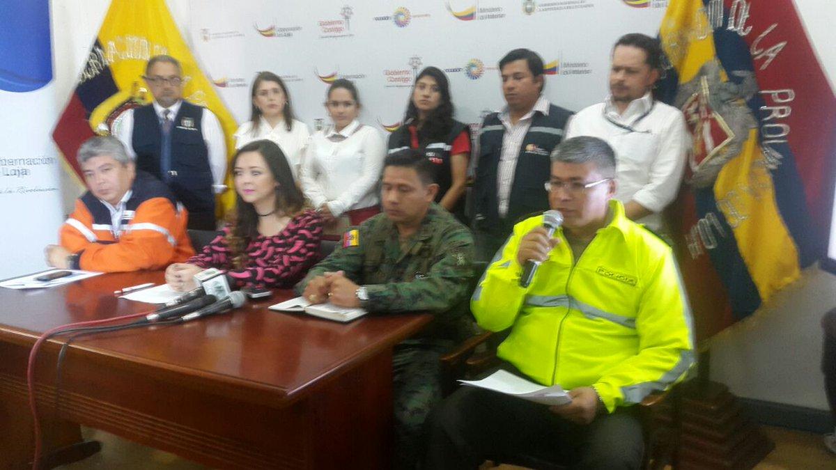RT @PoliciaEcuador: En #RuedaDePrensa, #SZLoja informó operativo  que se aplicará para #FeriadoCarnaval. https://t.co/K4swyOQ63r