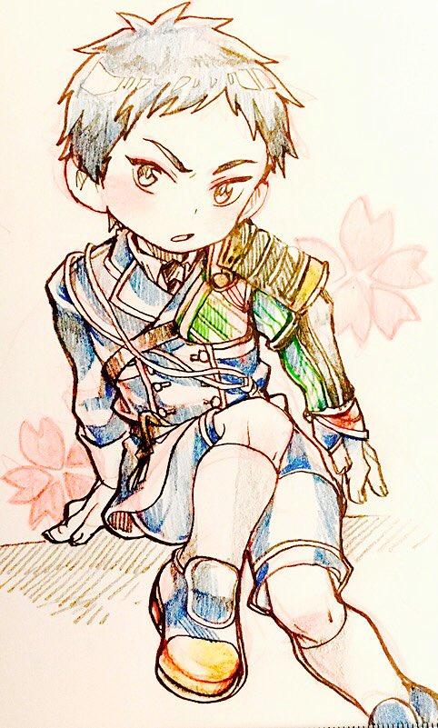 > 知ってたらでいいんですが、刀剣乱舞の厚藤四郎をお願いします  #odaibako刀剣男子はじめてでした。むずこ